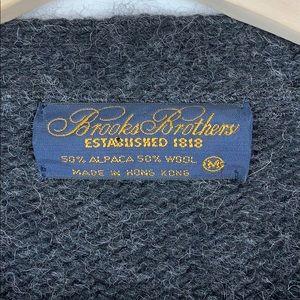 Brooks Brothers Sweaters - Men's Brooks Brothers Alpaca Wool Sweater Cardigan